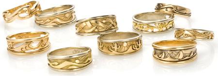 Custom Nature Rings