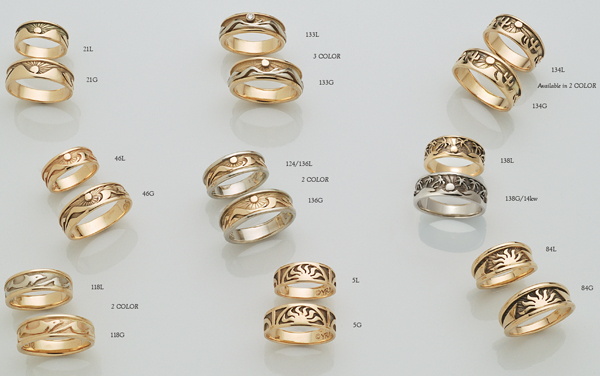 Handcrafted Rings by David Virtue Jewelry