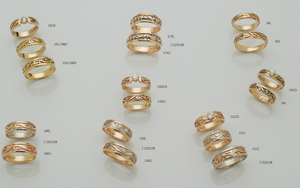 Rings by David Virtue Jewelry