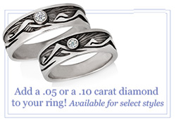 Customize your Rings with Diamonds